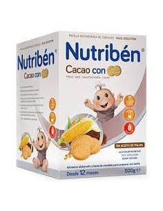 NUTRIBEN CACAO CON GALLETAS...