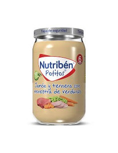 NUTRIBEN JAMON Y TERNERA...